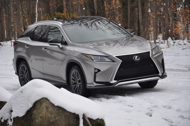 2018 Lexus RX350 F SPORT To Boyne Mountain